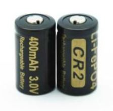 LiFePO4 15266 3.0V battery 400mAh